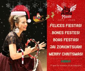Aly Alma te desea Felices Fiestas