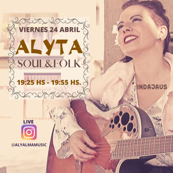 Cartel concierto Alyta: Soul&Folk