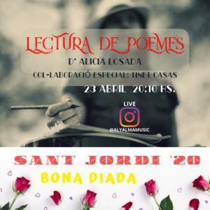 Feliz Sant Jordi - Lectura de Poemes - Aly Alma Music