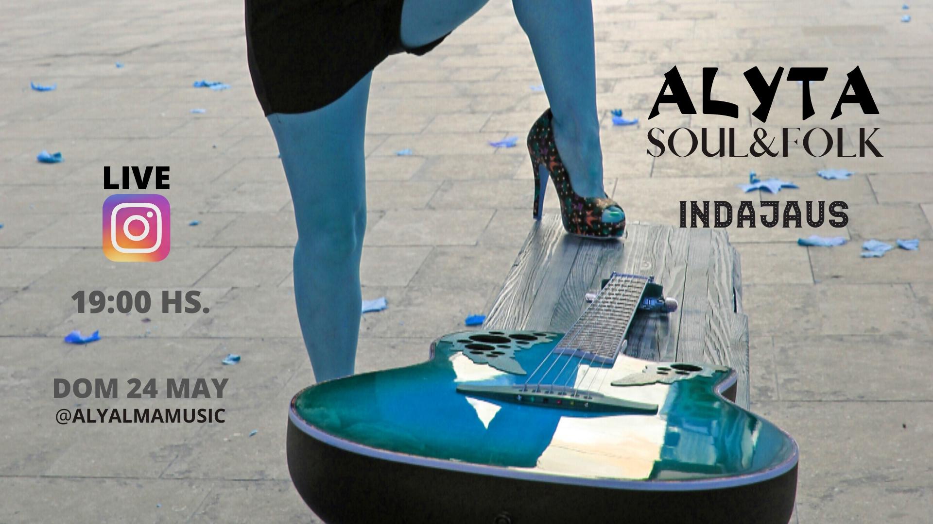Cartel concierto Alyta 24 mayo2020