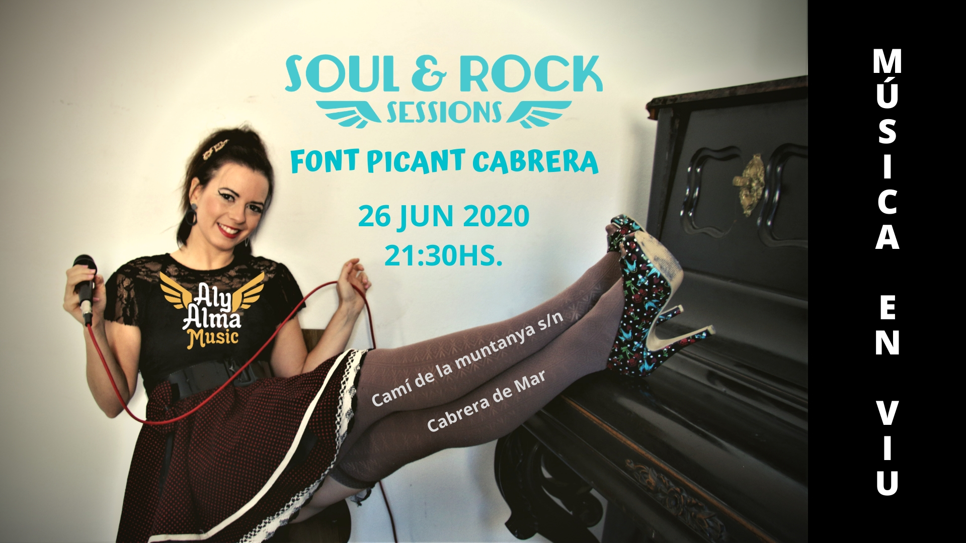 Cartell concert Soul&Rock Sessions