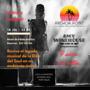 Cartel tributo Amy Winehouse