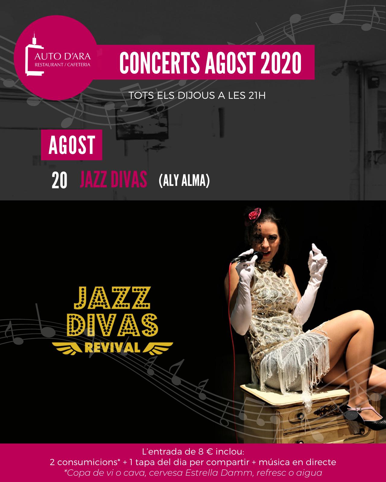 Cartel Jazz Divas