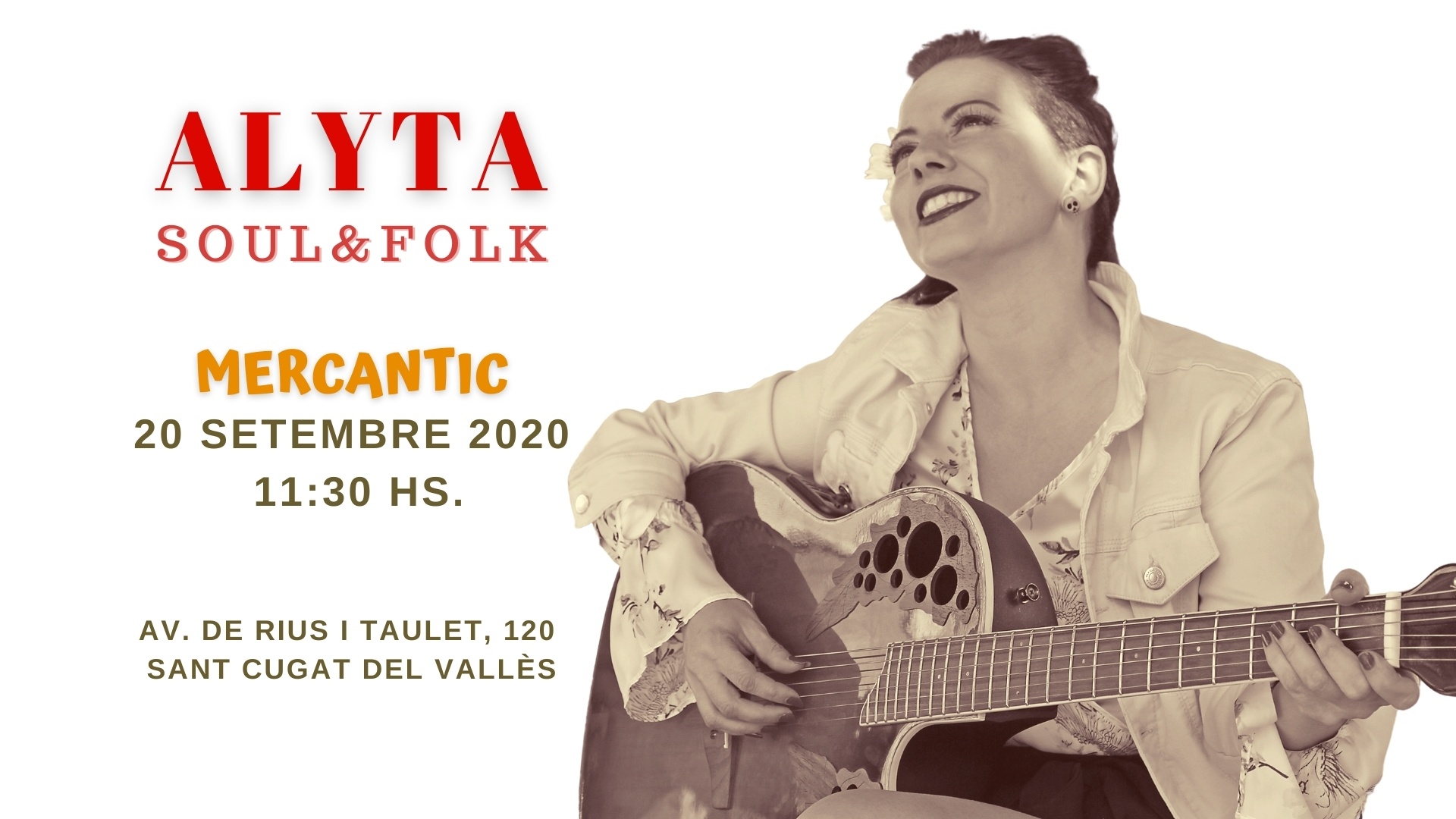 Cartel Alyta en Mercantic
