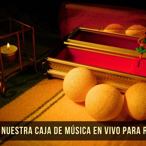Conoce nuestra Caja de Música en Vivo - Aly Alma Music