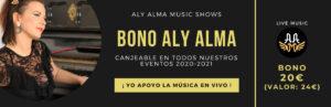 Bono 20 Aly Alma Music