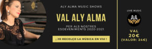 Val 20 per a concerts Aly Alma Music