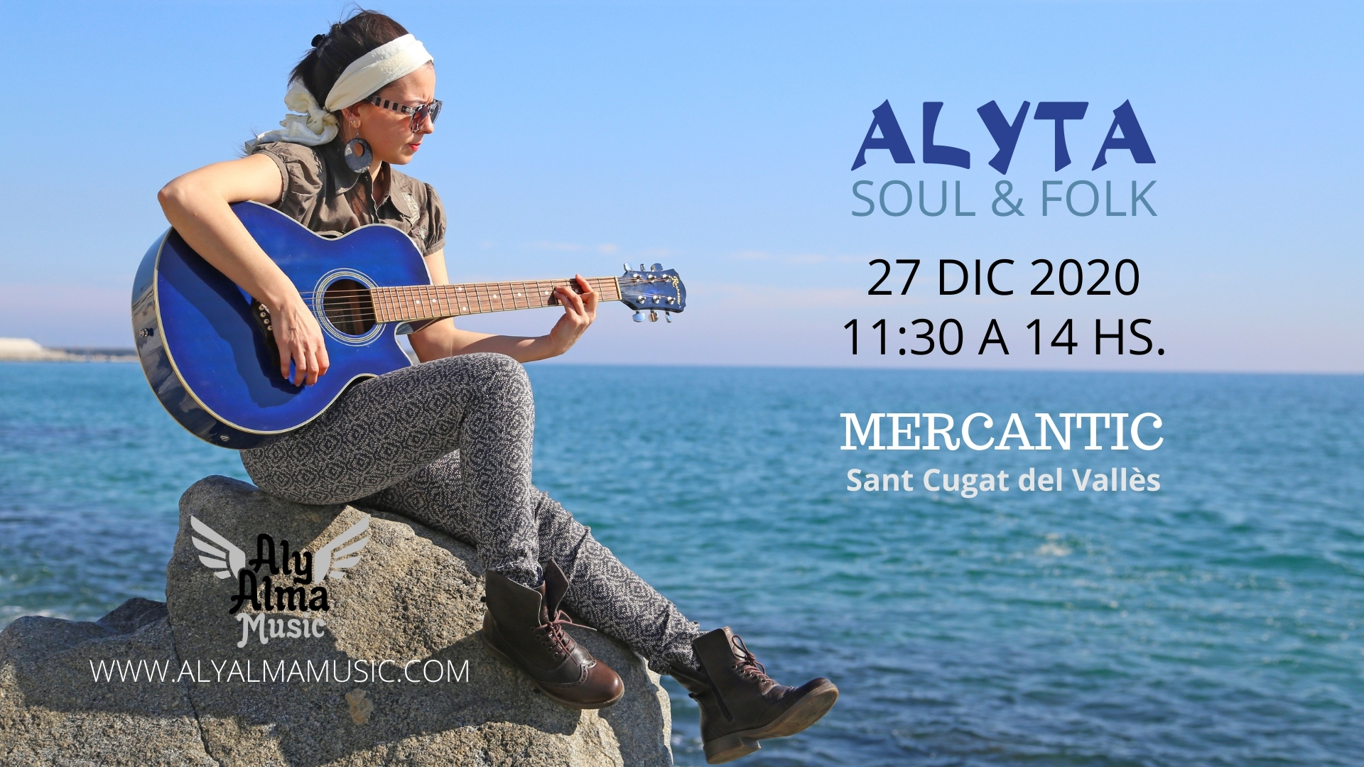 Cartel Alyta: Soul&Folk - Concierto en Mercantic