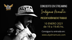 Cartel Concierto en Streaming Alyta 10 ene 2021