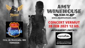 Cartel Amy Winehouse Tribute Band en Terrassa