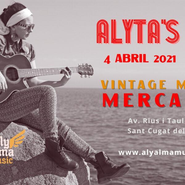 Cartel Alyta's Soul - Concierto en Mercantic