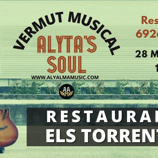 Cartel concierto Alyta's Soul