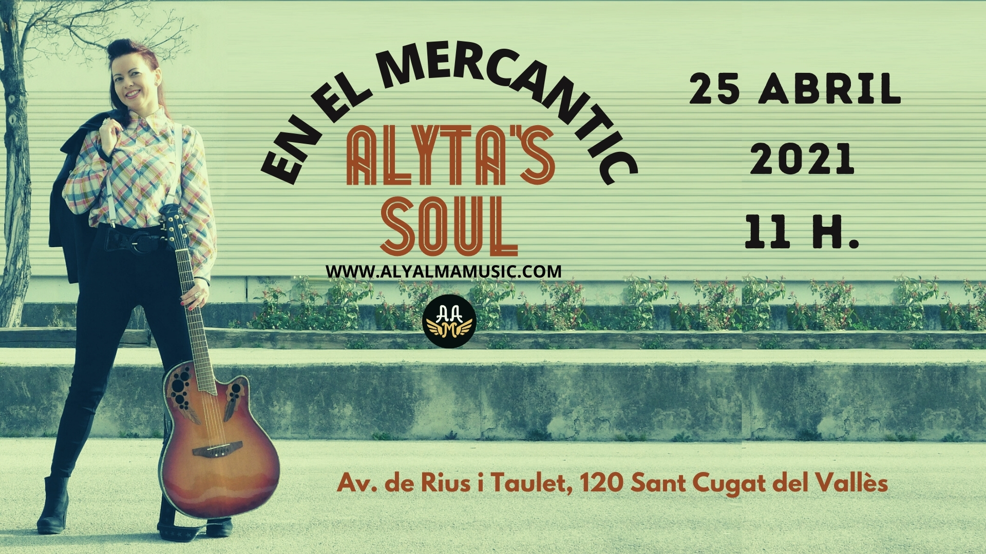 Cartel Alyta's Soul - Concierto