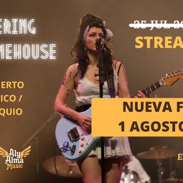 Remembering Amy - Concierto homenaje tributo a Amy Winehouse en Streaming el 1 de agosto de 2021