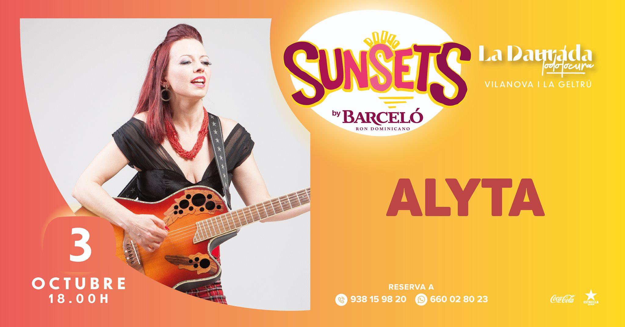Cartel concierto Alyta's Soul en Vilanova i la Geltrú, Barcelona