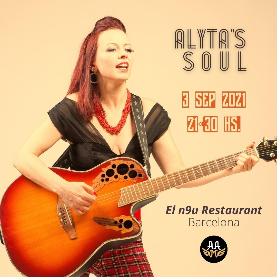 Cartel Alyta's Soul en concierto 2021